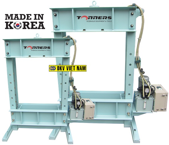 may ep thuy luc tonners DSP-20, Tonners hydraulic press DSP-20