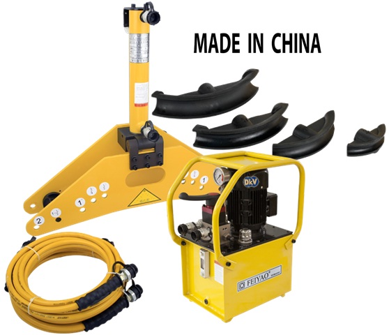 may uon ong Feiyao FY-159, Feiyao electric hydraulic pipe bender, FY-159