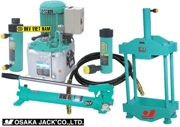 may ep thuy luc Osaka KPB-20, Osaka Bench top hydraulic press KPB-20, Japan